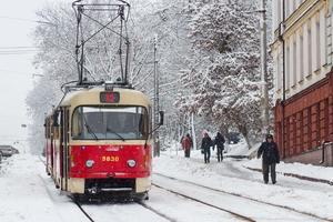 В Киеве появились новые именные трамваи
