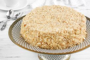 """Как приготовить торт """"Наполеон"""" с заварным кремом"""