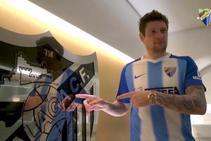 """""""Малага"""" официально представила Евгения Селезнева в качестве игрока клуба"""