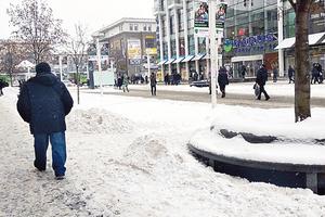 Зима в Днепре: за лед на тротуарах выпишут штраф до 1700 грн