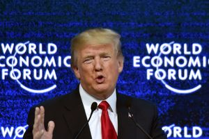 Трамп заявил, что отменяет свой визит на форум в Давосе