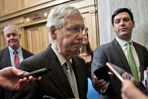 В сенате США заблокировали законопроекты по прекращению шатдауна