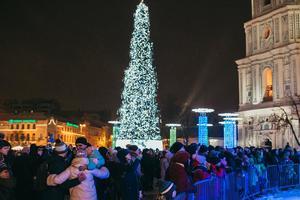 Завершение новогодних праздников в Киеве: елку скоро начнут разбирать