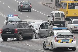 ДТП в Украине: число аварий, погибших и потерпевших за год снизилось - полиция