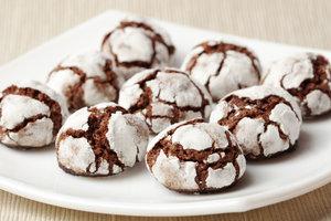 Шоколадное печенье с трещинками: рецепт от Марты Стюарт
