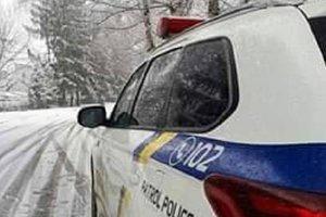 В Запорожской области из-за снега ограничено движение на трех автотрассах