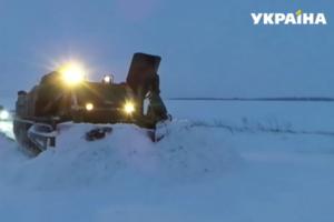 Штормовое предупреждение объявлено в семи областях Украины