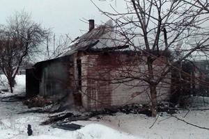 Мощный пожар в Днепропетровской области унес жизни двух человек