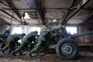 На Донбассе оккупанты устроили учения для артиллерии и минометов