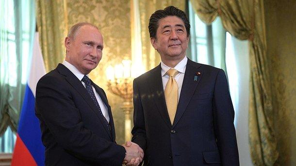 Владимир Путин и Синдзо Абэ. Фото: kremlin.ru