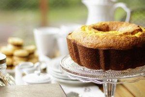 Рецепт быстрого лимонного кекса к чаю