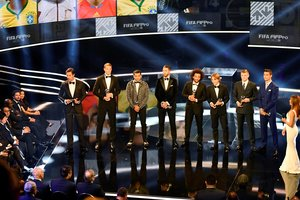 Без Неймара и Салаха: УЕФА удивил составом символической сборной 2018 года