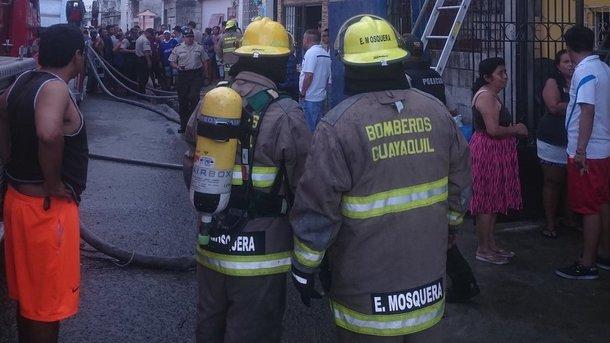 Фото: Twitter Bomberos Guayaquil