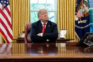 Трамп выложил фото новой стены на границе с Мексикой