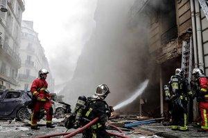 Мощный взрыв в пекарне Парижа: пострадал украинец