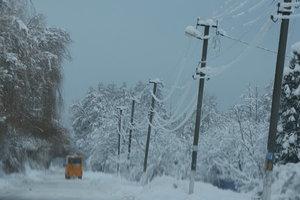 Непогода спровоцировала транспортный коллапс в трех центральных областях Украины