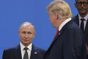 Трамп о России: экономика РФ не в лучшем состоянии а переговоры с Путиным позитивные