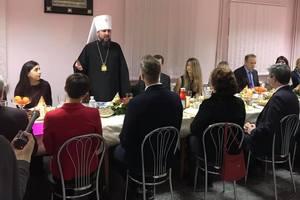 Предстоятель ПЦУ Епифаний встретился с родственниками украинских политзаключенных