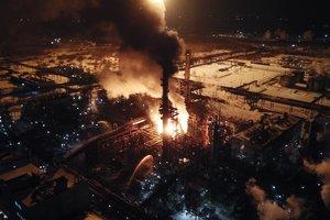 Пожар на химзаводе под Калушем ликвидирован: подробности аварии, фото и видео