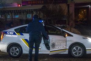 В Киеве скандал в пиццерии закончился массовой дракой со стрельбой