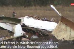 В Германии разбился самолет: два человека погибли