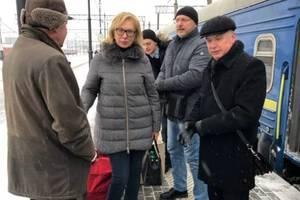 Денисова прибыла в Москву накануне заседания суда по украинским морякам
