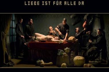 В Германии запрещен показ обложки нового альбома Rammstein