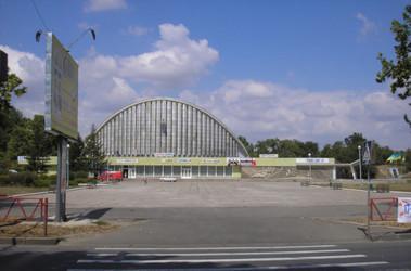 """Площадь возле областного концертного зала """"Юбилейный"""", фото портала """"Херсон&quot."""