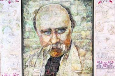 Мозаика портрет состоит из 144