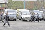 В Донецке маршрутки подорожали в среднем до 2 грн., в Мариуполе - до 2,5. Фото А. Дудуш.
