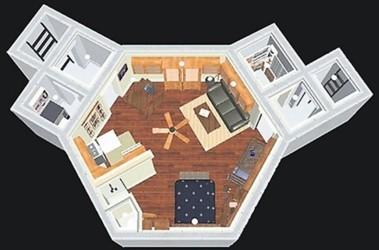 Под землей. Убежище — квартира с водой и канализацией. Фото slando.com