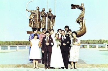 Свадьбы в 80 годов 82