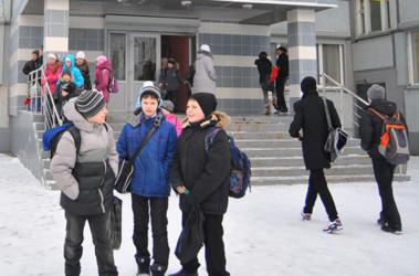 ученики идут в школу картинки