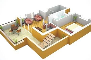 Дизайн одноэтажного частного дома фото