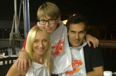 Кристина орбакайте с мужем и сыном