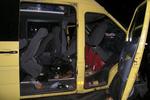 Микроавтобус с детьми протаранил иномарку