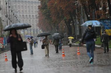 На киевлян надвигается шторм