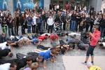 Воркаут-тренировка в Днепре собрала силачей, бойцов и даже йогов