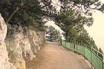 Знаменитая пешеходная тропа, которая пролегает на ЮБК вдоль морского берега между Ливадией и Гаспрой...