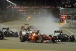 Формула-1: результаты Гран-при Сингапура