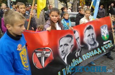 Центральные улицы Киева будут перекрыты 14 октября в связи с маршем УПА - Цензор.НЕТ 4918