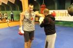 Новые фото из тренировочного лагеря Кличко