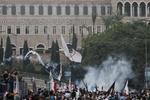 Похороны убитого ливанского генерала закончились беспорядками