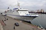 В Одессе гостил шикарный лайнер FTI BERLIN