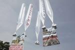 Южнокорейские активисты сбросили на КНДР шарики с листовками