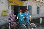 Украинских почтальонов пересадят на фирменные велосипеды