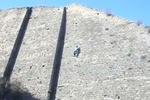 """Одесский """"человек-паук"""" преодолел без страховки 25-метровую стену"""