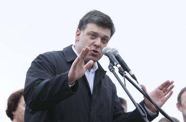 """<p>Тягнибок не будет успокаивать Кличко, который обеспокоен радикализмом ВО """"Свобода""""</p>"""