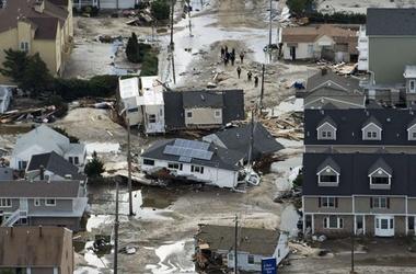 катастрофы, стихия, последствия, разрушения, США, Сэнди, ураган