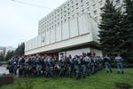 """В ЦИК хотят наказать """"Беркут"""" за штурмы окружкомов"""